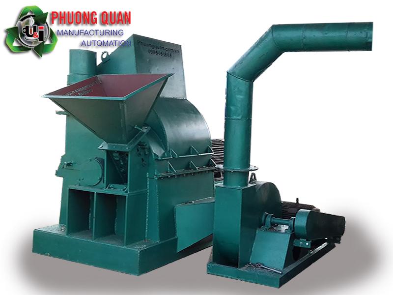máy băm nghiền gỗ đa năng